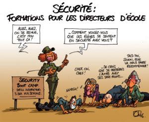 """Interpellation du 19 juin 2018 """"Sécurité à l'école"""""""